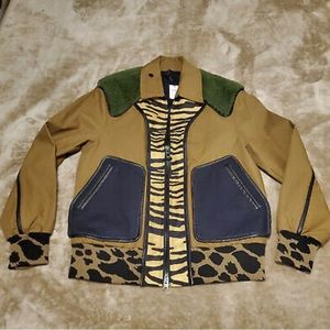 Rare Animal Print Coach Jacket - New Without Tags